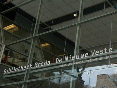 Bibliotheek Breda & Nieuwe Veste | Molenstraat 6 in Breda