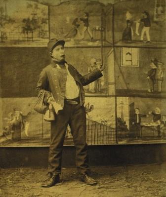 Abraham de Winter (1847 - 1920) - Bredase verhalenverteller - foto: Breda's Museum
