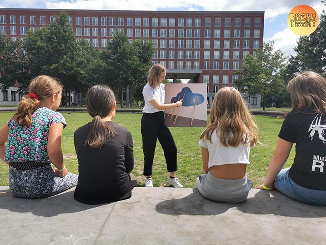Een creatieve zomer: Bredase meiden tijdens SummerviBes Breda