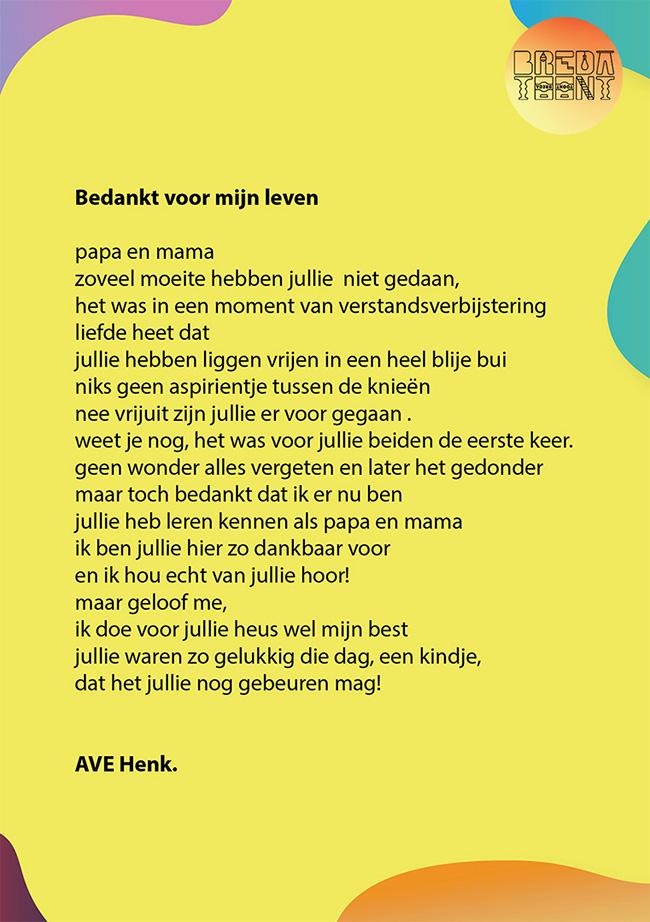 Een creatieve zomer: Henk Kooij