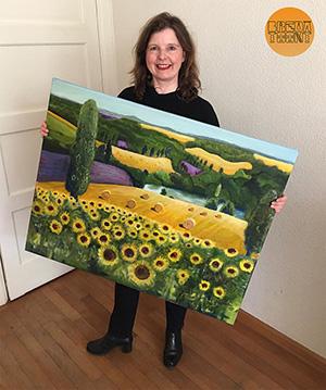 Deelnemer Carolijn Beckers en haar werk