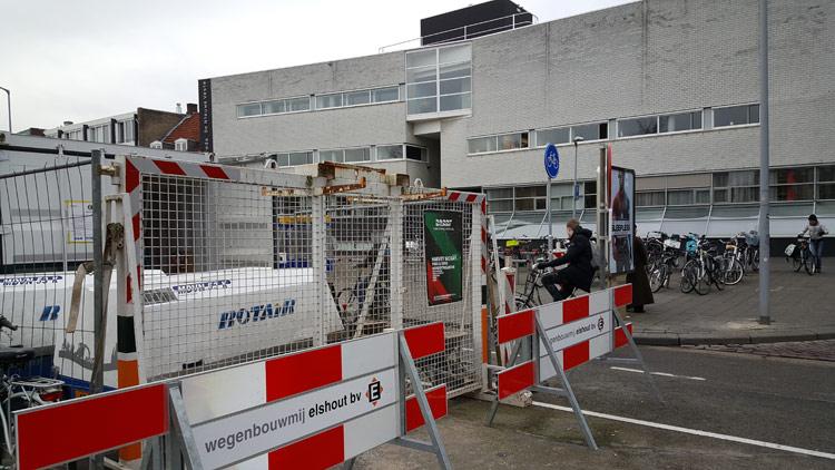 Werk in Uitvoering op de Oude Vest in Breda